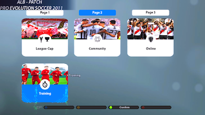 PES 2019 Graphic Menu for PES 2011 by AlbPatch-Pes2011