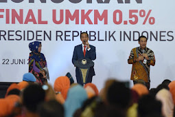 Turun Dari 1 Persen, Presiden Jokowi Luncurkan Pajak Final UMKM 0,5