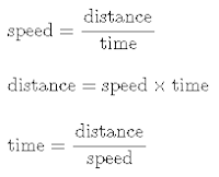 Time and Distance Formula
