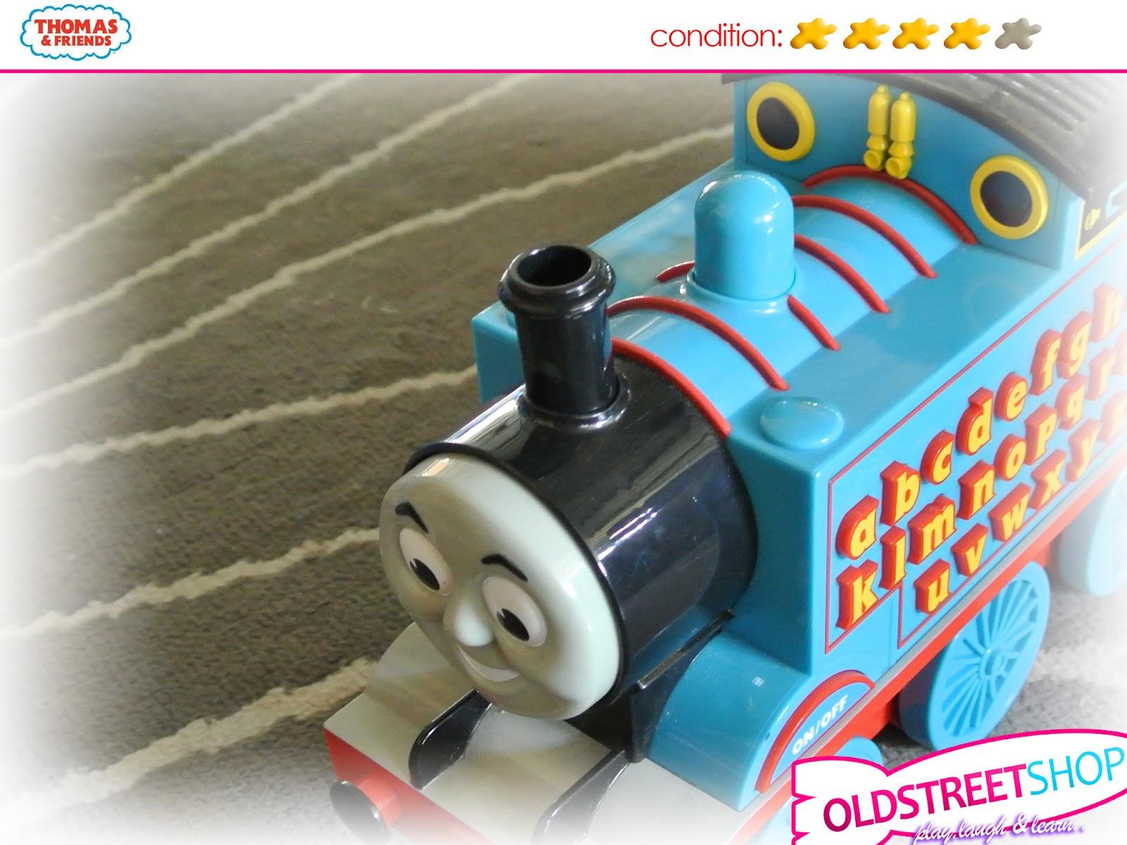 Oldstreetshop Thomas Alphabet Train