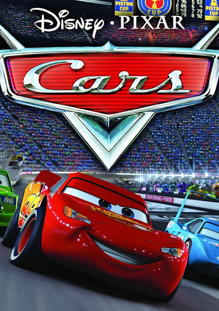 Cartel película de Pixar Animation Studios Cars