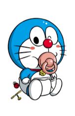 gambar Doraemon bayi lucu dan imut