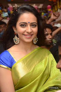 Actress Rakul Preet Singh Stills at LPT Textile Market Launch