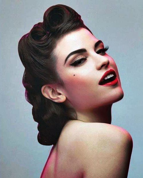 50 s style hair 50s hairstyles 11 vintage hairstyles to look special 1292 | 50s hairstyles for long hair