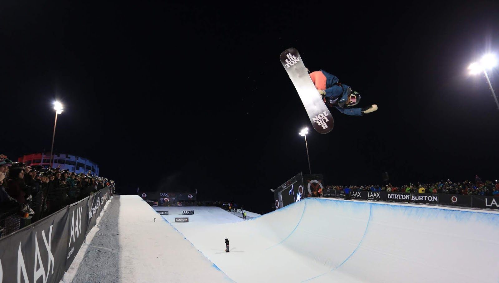 Chloe Kim e Scotty James vencem mais uma no Snowboard Halfpipe