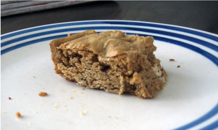 Speculoos Cookie Butter Blondies by freshfromthe.com