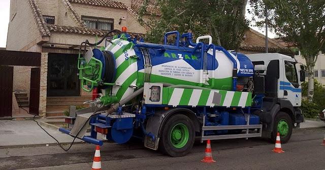 Camiones cuba en Madrid