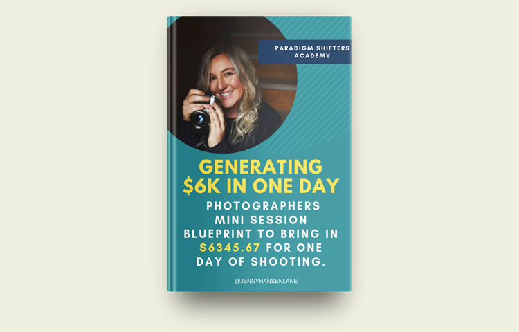 Photographers Mini Session to generate $6K with one day of shooting
