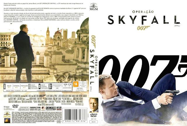 Capa DVD Operação Skyfall