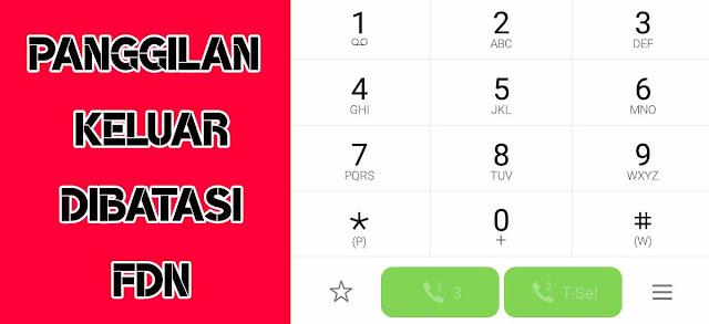 fdn nomor dibatasi pin telkomsel