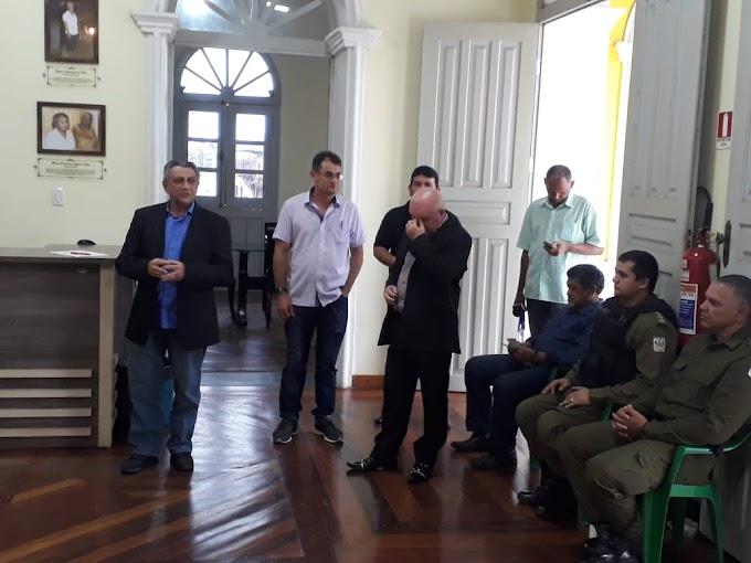 VEREADOR PENINHA ASSUME PRESIDENCIA DO CONSELHO DE SEGURANÇA DE ITAITUBA