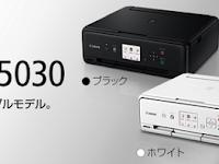 Canon PIXUS TS5030 ドライバ ダウンロードする - Windows, Mac