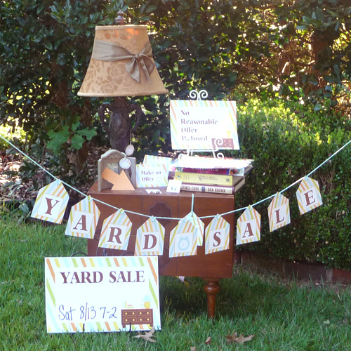 How to Have a Successful Yard Sale - Pro Tips | Belly