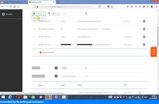 Namecheap advanced dns delete default dns records