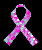 Laço floral câncer mama