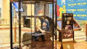 """Husband storage"" facility opens in Chinese shopping mall"