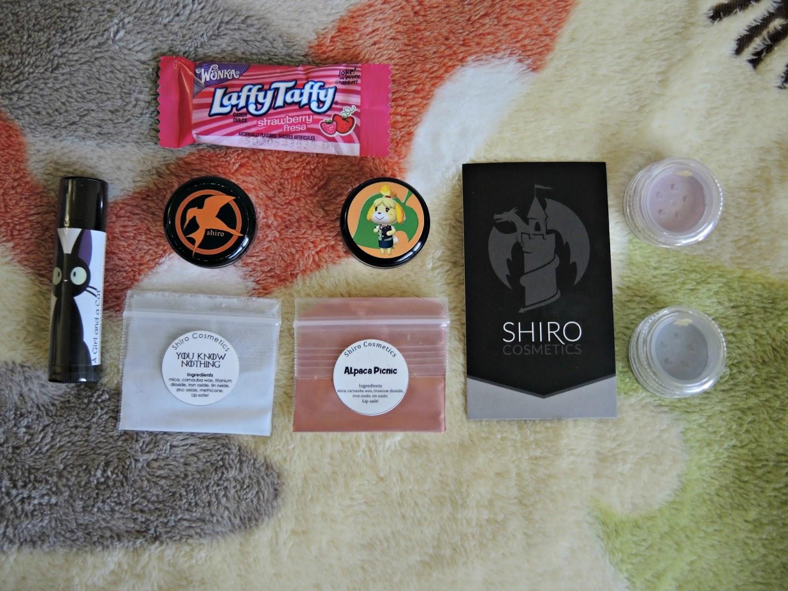 milkii ♡ princess: Shiro Cosmetics Indie Makeup Brand Review~