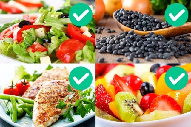 ¿que comer durante la semana para bajar de peso? menu 7 dias para adelgazar