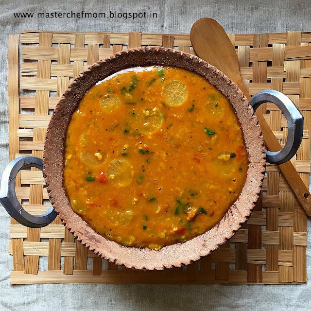 Tam Brahm Style Radish Sambar