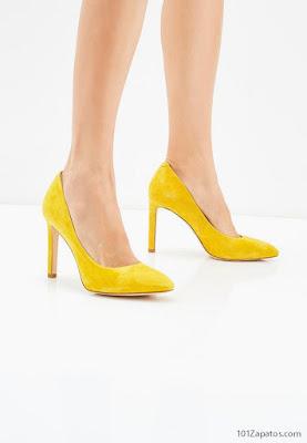 |Tacones Amarillos