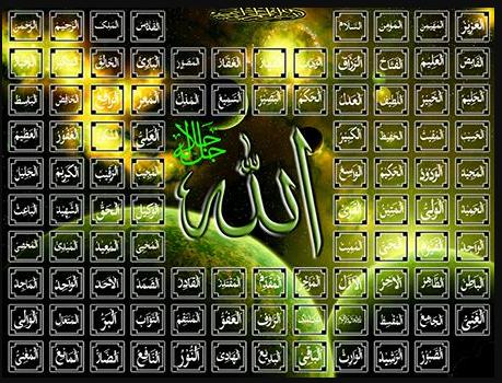 Bacaan Nama Nama Asmaul Husna