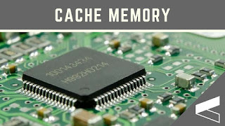 It is the small amount of memory located between main memory and processor. Cache memory is also known as high speed buffer or a chip memory. The microprocessor stores a copy of most frequently used data and instructions in the cache memory. The microprocessors when desires and data its first look and to the cache memory, if not found their then it will ask for the same from the main memory. This will result in the better efficiency of the microprocessor speed and its usage.  There are different levels of cache memory   Level 1(L1) Cache memory resides inside the microprocessor and is very fast from the other memories  Microprocessor first checks the level 1 cache memory.  Level 2 (L2) cache memory lies just outside the microprocessor, it is slow as instruction not found in level 1 cache memory the microprocessor will look in to level 2 cache memory.   Now a day's modern microprocessor has level3 cache in the motherboard.