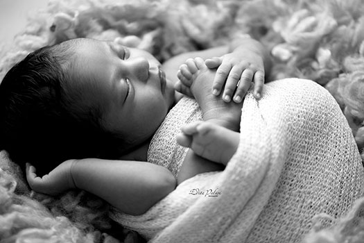 backlit newborn pictures