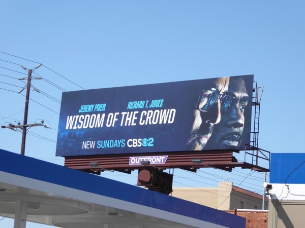 Wisdom of Crowd series launch billboard