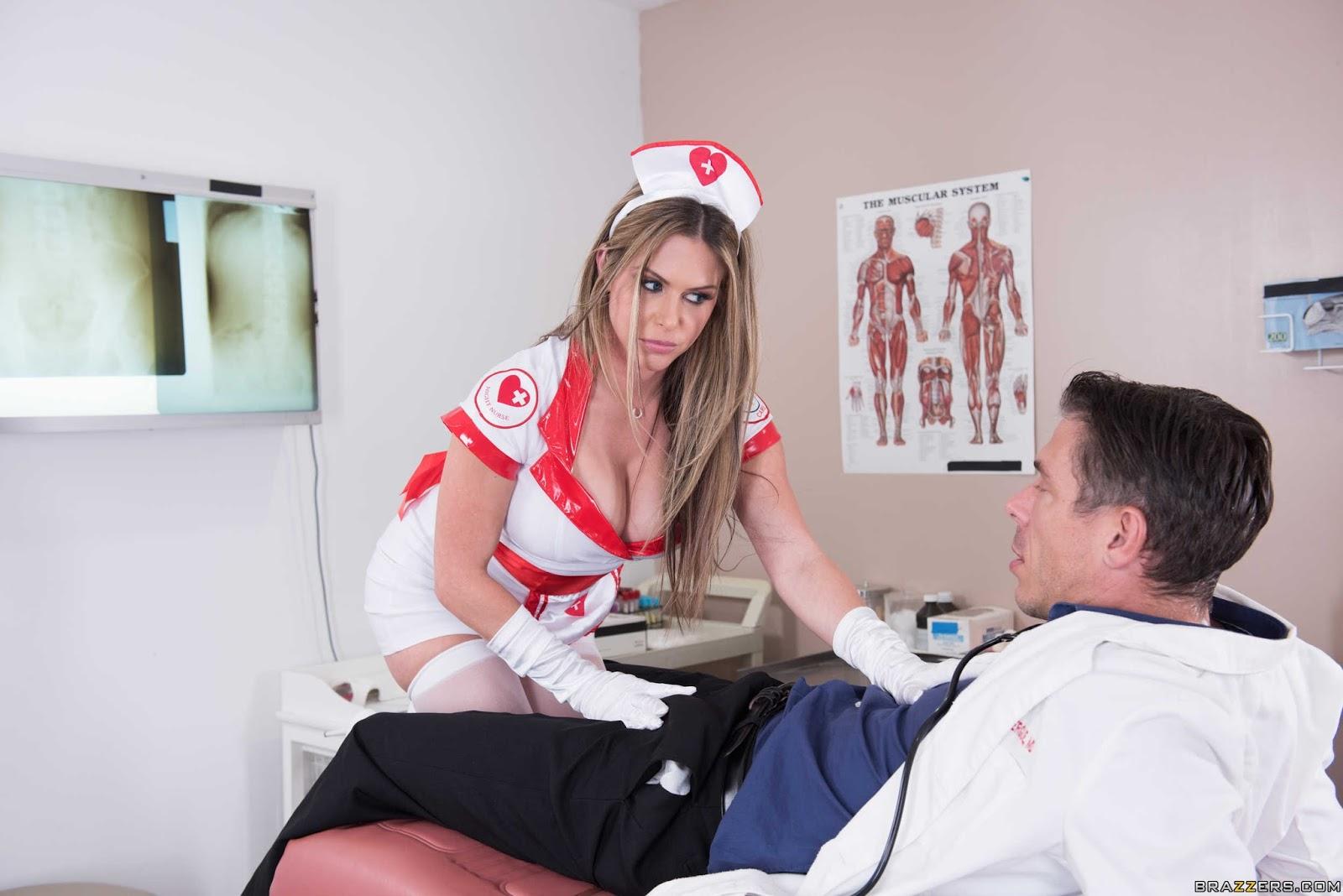 Doctor Daydream Leads to HOT Nurse Rachel Roxxx Getting