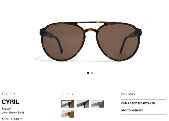 página de venda de óculos de sol - técnicas de seo sites de ecommerce