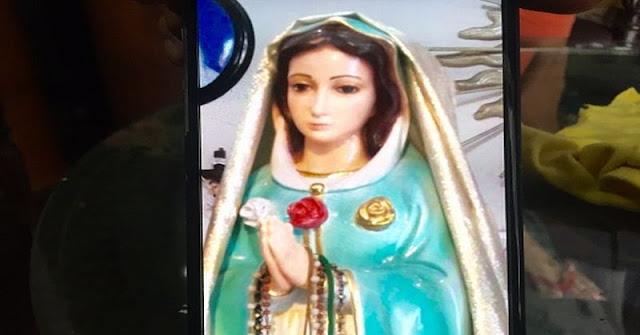 Ajaib, Patung Bunda Maria Ini Keluarkan Minyak Wangi dan Air Mata