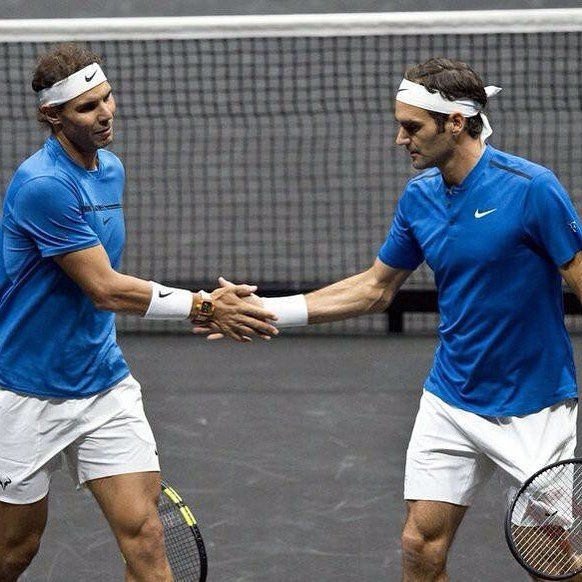 This is what Nadal said about playing with Federer