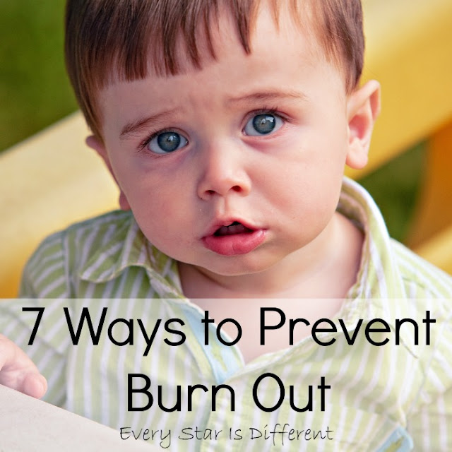 7 Ways to prevent burn out as a parent of children with special needs