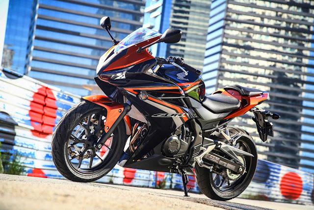 Honda CBR 500R 2017