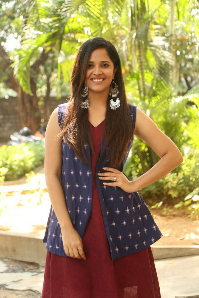 Anchor Anasuya At Sachindira Gorre Movie Press Meet Gallery