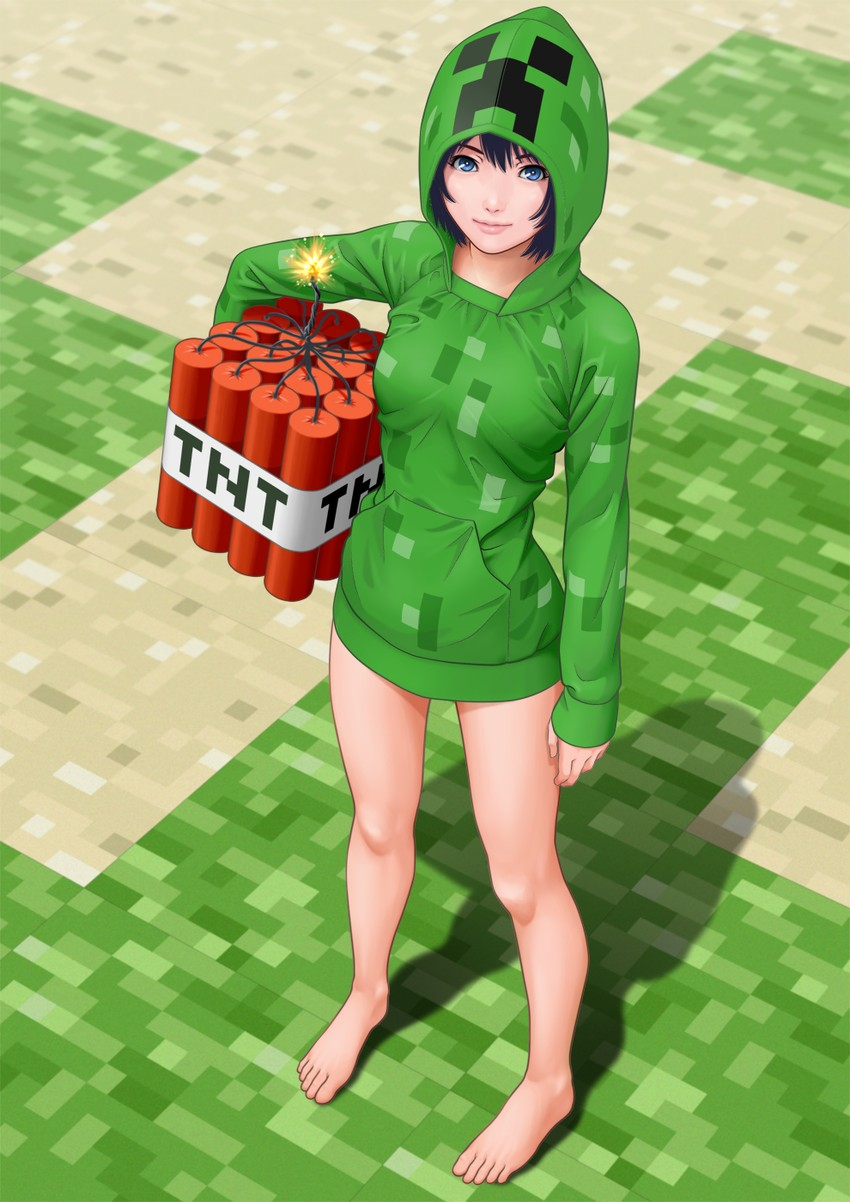 Minecraft is my mine january 2012 - Creeper anime girl ...