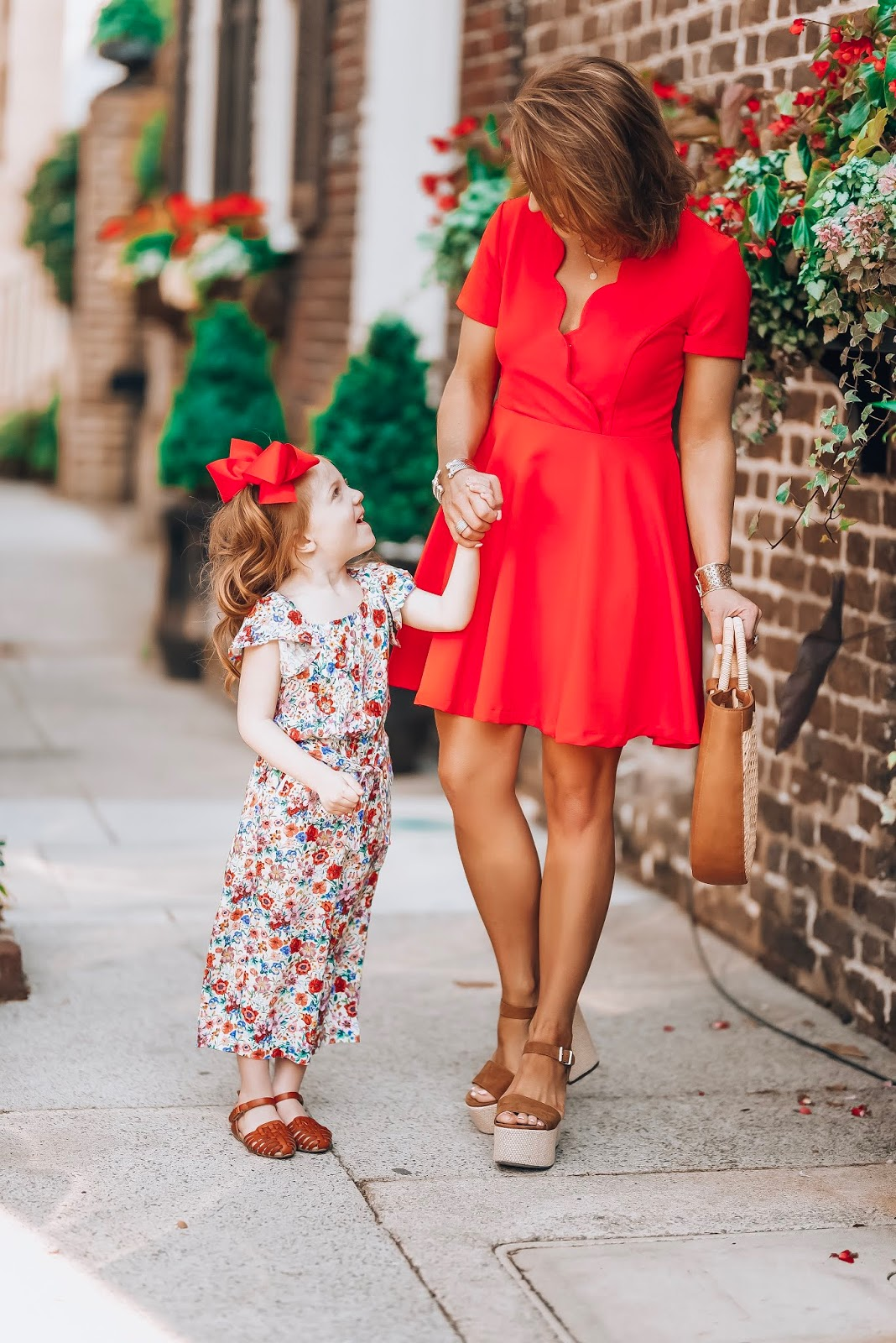 Mommy and Me Affordable Spring Looks in Charleston - Something Delightful Blog #springstyle