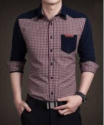Contoh Model Kemeja Lengan Panjang Pria Trend Masa Kini
