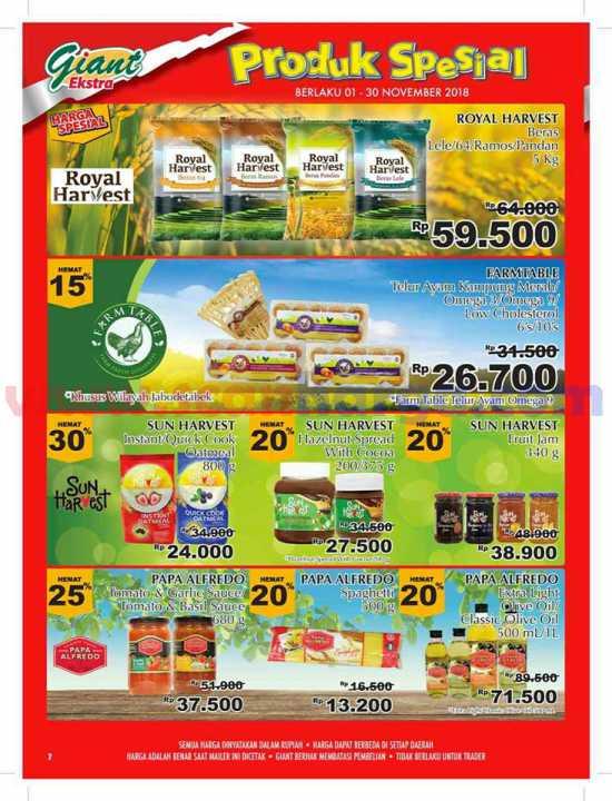 Katalog Promo Giant Ekstra Edisi Mailer 1 30 November 2018 Katalog Promosi Katalog Promosi
