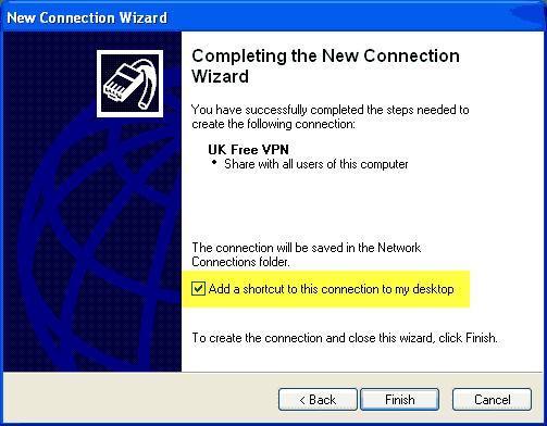 VPN Windows XP