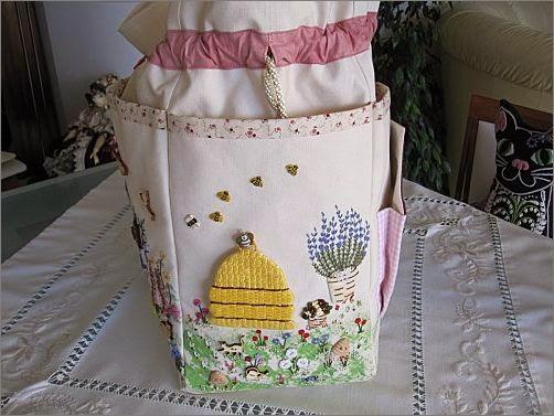 Красивая сумка из ткани