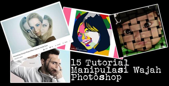 tutorial manipulasi wajah photoshop
