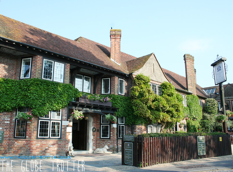 The Montagu Arms Hotel in Beaulieu