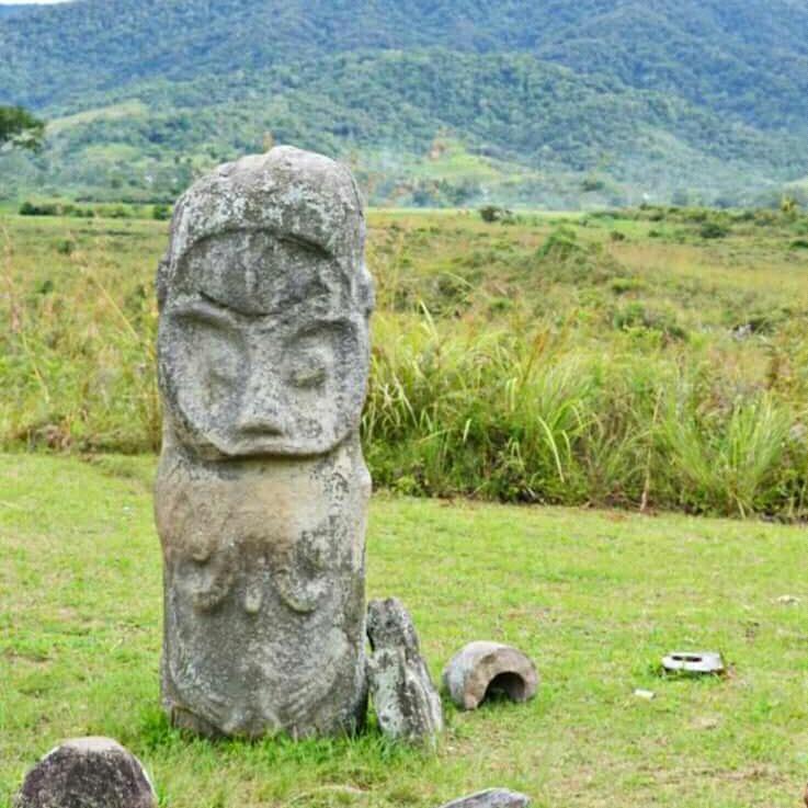 Situs Megalitikum Patung Tadulako Di Lembah Besoa | Informasi Kota Palu