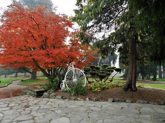 Parco del valentino torino in autunno