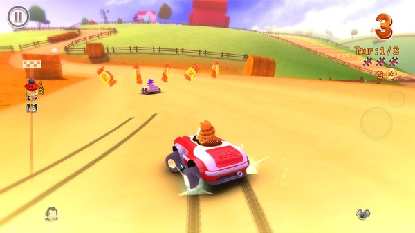 Garfield Kart PC Full Version Screenshot 2