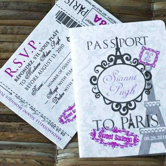 convite passaporte paris