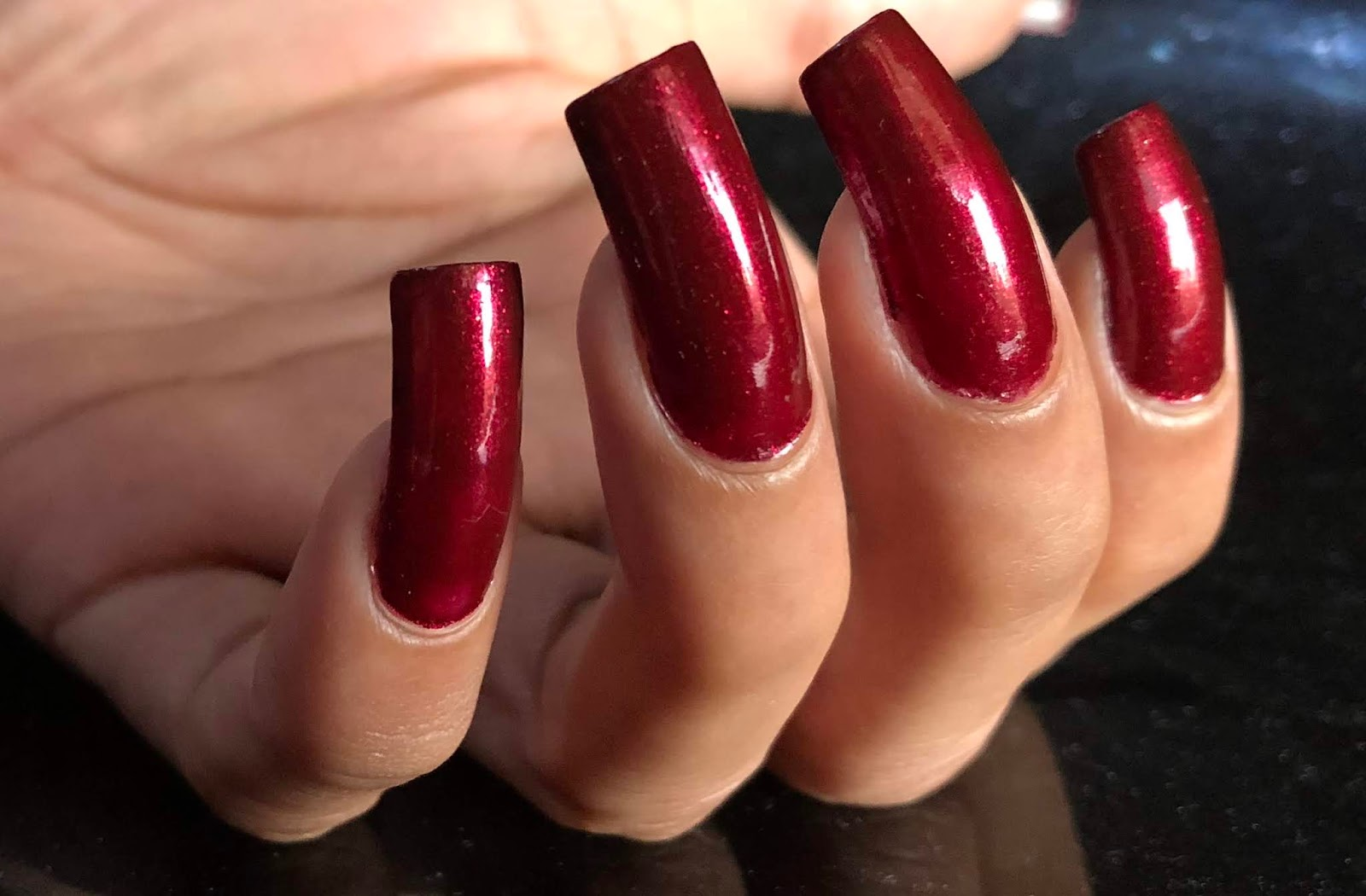 Ahoy! Nails!!: Color Dose Nail Lacquer - Bridal Maroon Swatch & Review