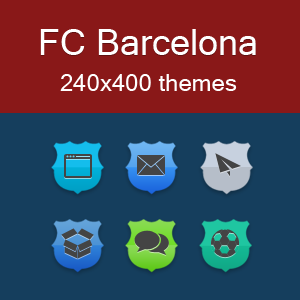 FC Barcelona themes for Asha 305 full touch