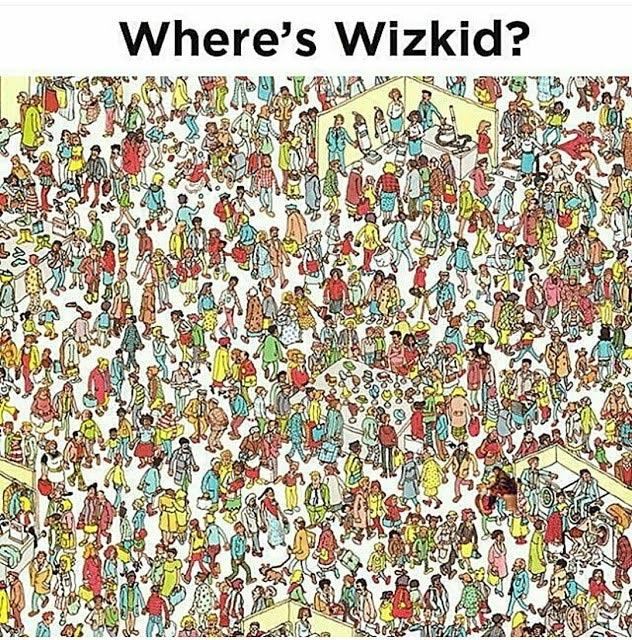 Teaser: Can you find Wizkid in this photo?